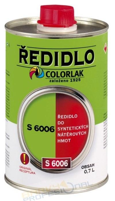 COLORLAK ŘEDIDLO S 6006 / 0,7L do syntetických nátěrových hmot