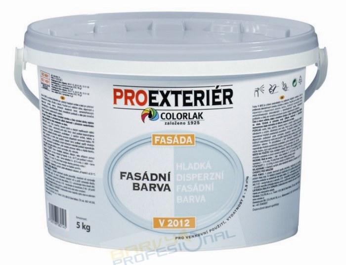 COLORLAK FASADA V 2012 / C0100 Bílá / 5Kg hladká disperzní fasádní barva