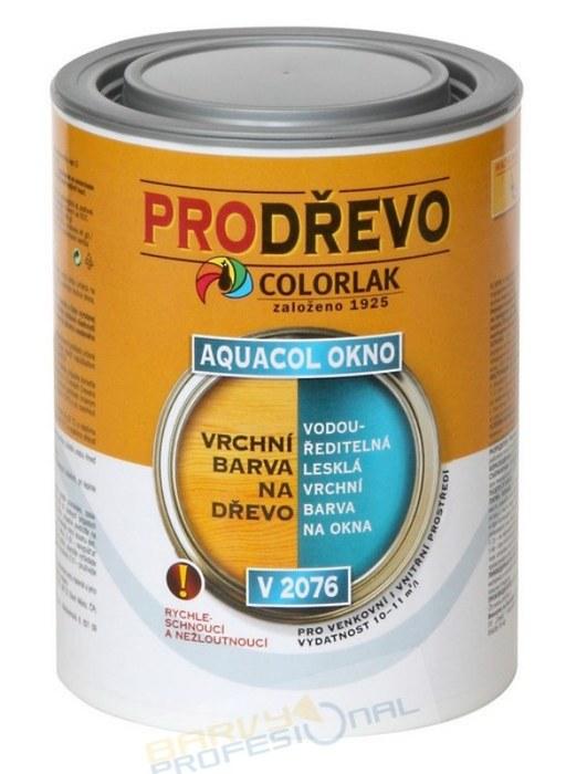 COLORLAK AQUACOL OKNO V 2076 / 0,6L vodouředitelná lesklá vrchní barva na okna