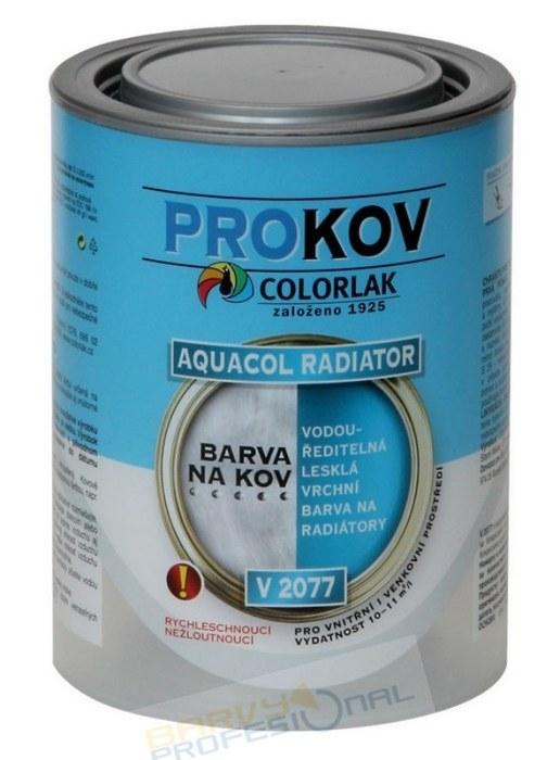 COLORLAK AQUACOL RADIATOR V 2077 / 0,6L vodouředitelná lesklá vrchní barva na radiátory