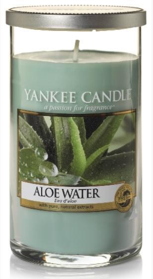 YANKEE CANDLE ALOER WATER DÉCOR STŘEDNÍ