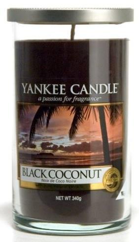 YANKEE CANDLE BLACK COCONUT DÉCOR STŘEDNÍ