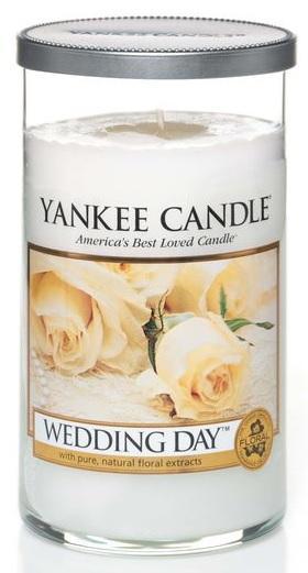 YANKEE CANDLE WEDDING DAY DÉCOR STŘEDNÍ