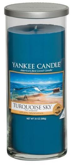 YANKEE CANDLE Turquoise Sky DÉCOR VELKÝ Vonná Svíčka