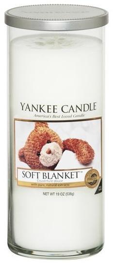 Vonná Svíčka YANKEE CANDLE Soft Blanket DÉCOR VELKÝJemná přikrývka