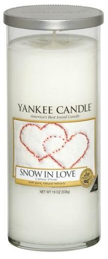YANKEE CANDLE SNOW IN LOVE DÉCOR VELKÝ