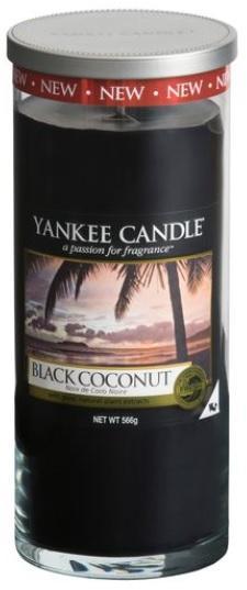 YANKEE CANDLE BLACK COCONUT DÉCOR VELKÝ