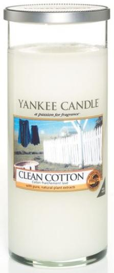 YANKEE CANDLE CLEAN COTTON DÉCOR VELKÝ