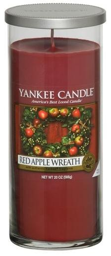 YANKEE CANDLE RED APPLE WREATH DÉCOR VELKÝ