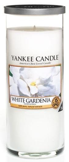 YANKEE CANDLE WHITE GARDENIA DÉCOR VELKÝ