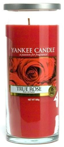 YANKEE CANDLE TRUE ROSE DÉCOR VELKÝ