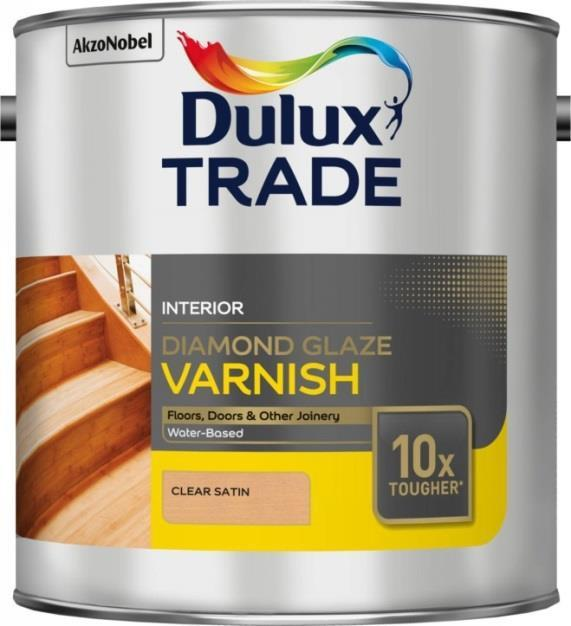 DULUX Diamond Glaze Interiérový extrémně tvrdý lak - pololesklý 2,5l