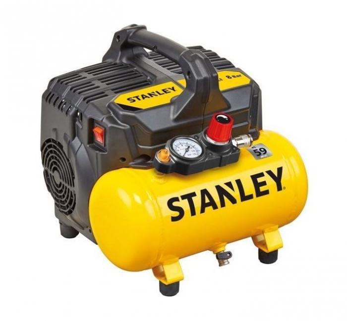 STANLEY DST 100/8/6 samomazný kompresor / odhlučněný
