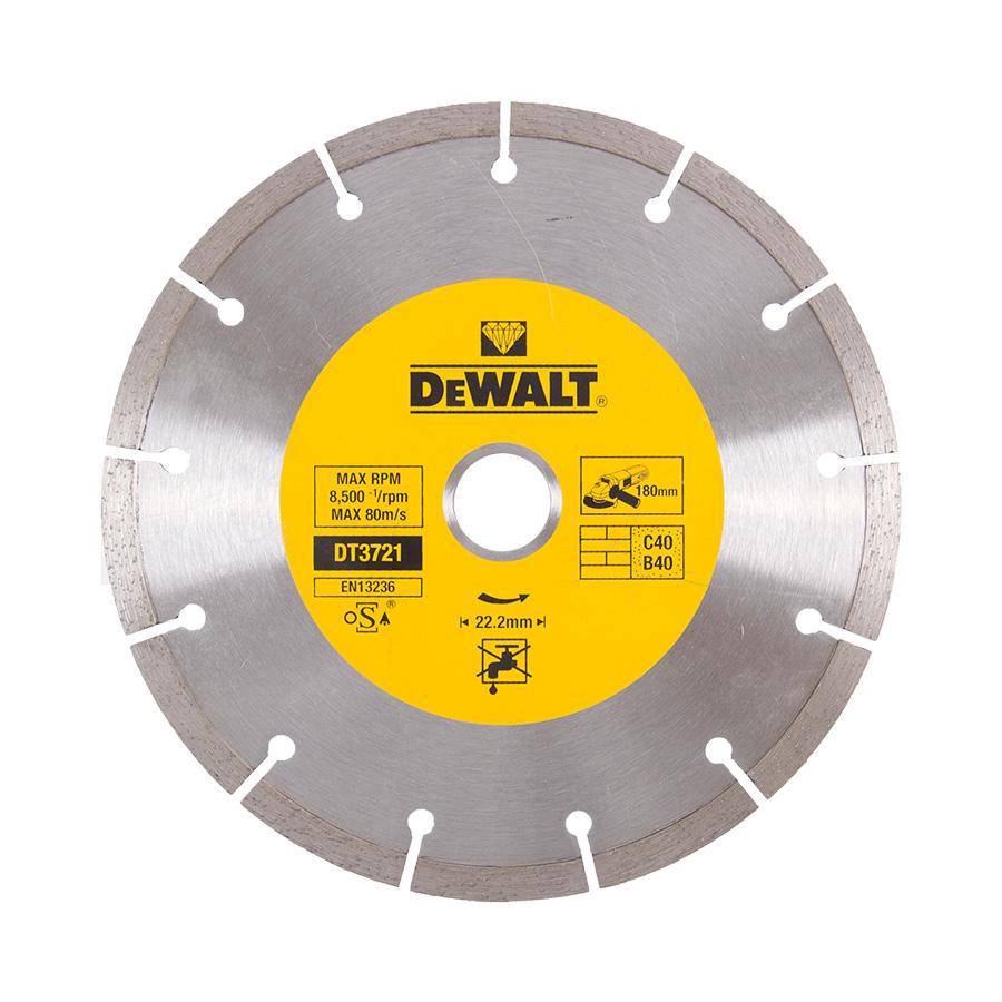 DeWalt DT3721 Diamantové kotouče se segmentovaným obvodem pro suché řezání