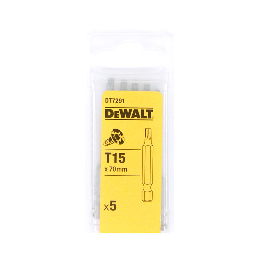 DeWalt DT7291 Šroubovací nástavec pro šrouby Torx® - délka 70 mm