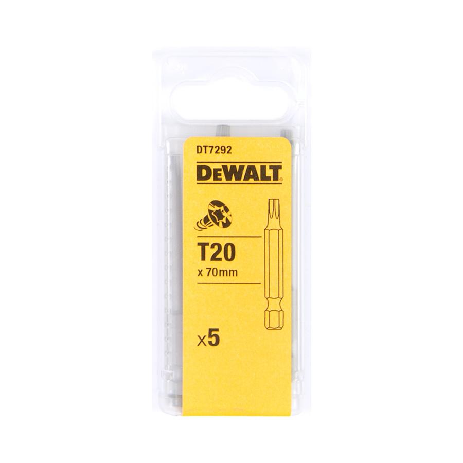 DeWalt DT7292 Šroubovací nástavec pro šrouby Torx® - délka 70 mm