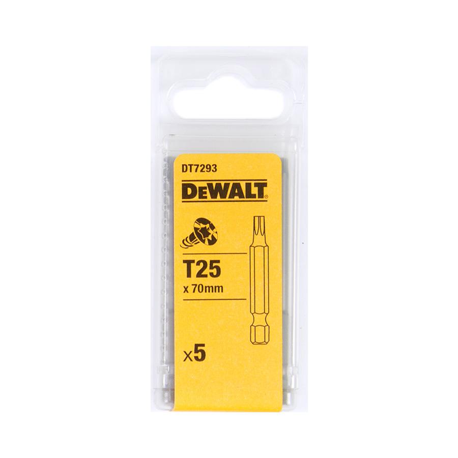 DeWalt DT7293 Šroubovací nástavec pro šrouby Torx® - délka 70 mm