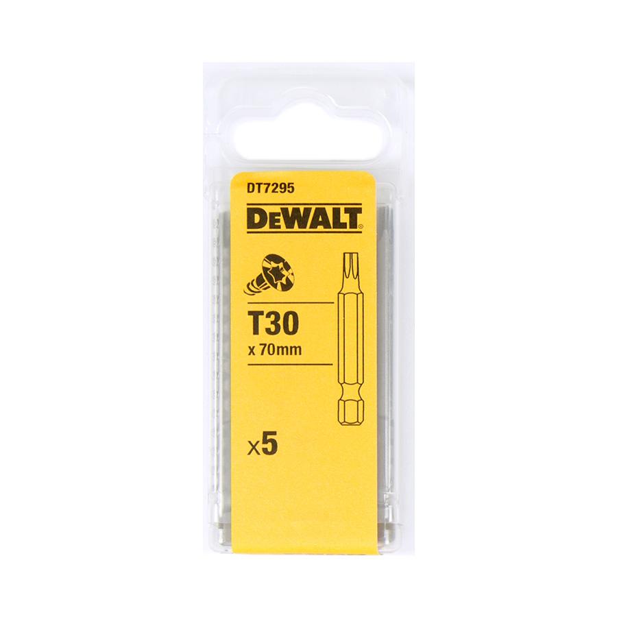DeWalt DT7295 Šroubovací nástavec pro šrouby Torx® - délka 70 mm