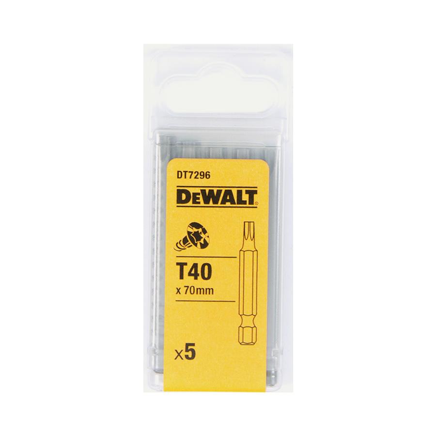 DeWalt DT7296 Šroubovací nástavec pro šrouby Torx® - délka 70 mm