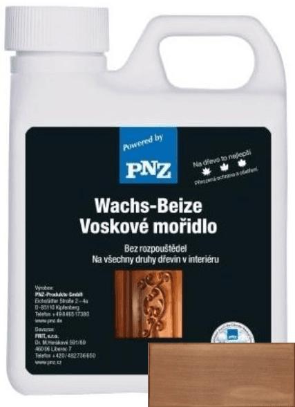 PNZ Voskové mořidlo eiche dunkel / tmavý dub 1 l