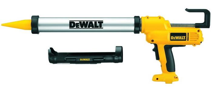 DeWalt DC542K-QW 12V pistole na silikon vč. zásobníku 1x aku NiMH / 2,6 Ah