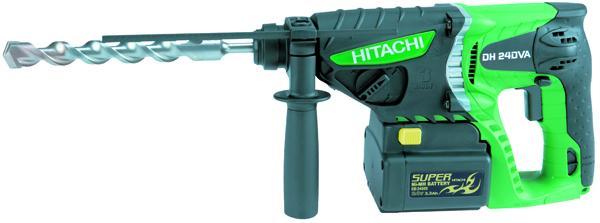 HITACHI DH24DVA vrtací/sekací kladivo SDS+ 24V