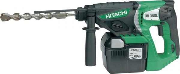 HITACHI DH36DL aku vrtací kladivo 36V / 3,0Ah / 26mm