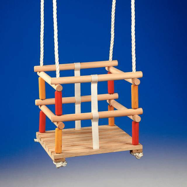 PROFESIONAL Dřevěná houpačka pro děti