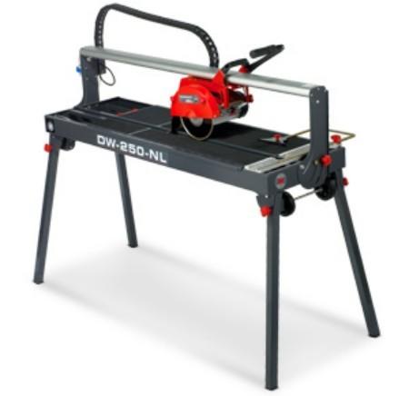 RUBI DIAMANT DW-250-NL stolová portálová pila délka řezu 100 cm / kotouč 250 mm