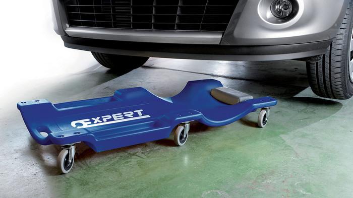 TONA EXPERT E200114 Pojízdné montážní lehátko