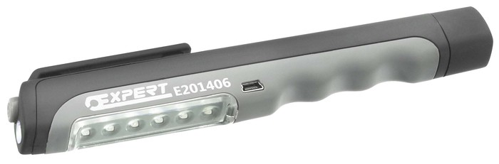 TONA EXPERT E201406 Tužková LED nabíjecí USB svítilna