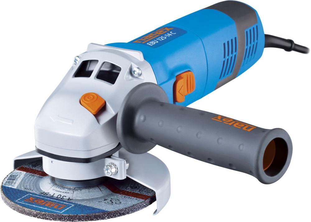 Narex EBU 125-14 C úhlová bruska 1400W