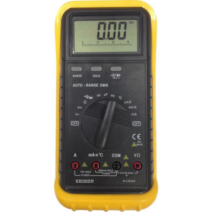 EDISON DAM668 digitální multimetr