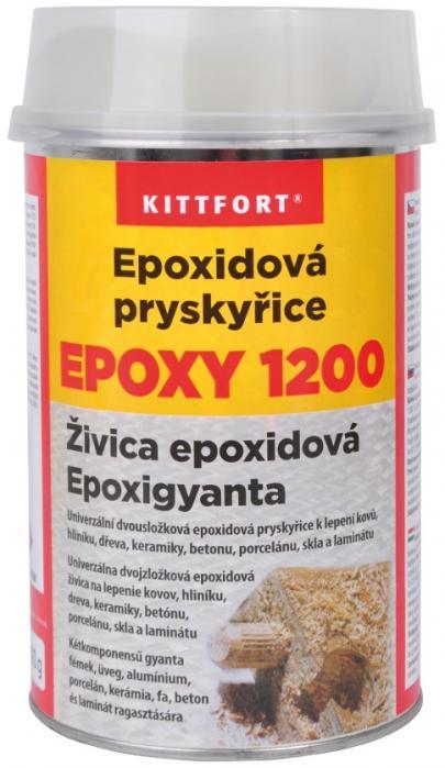 Kittfort Epoxidová pryskyřice 1200 univerzální epoxidová pryskyřice 800g