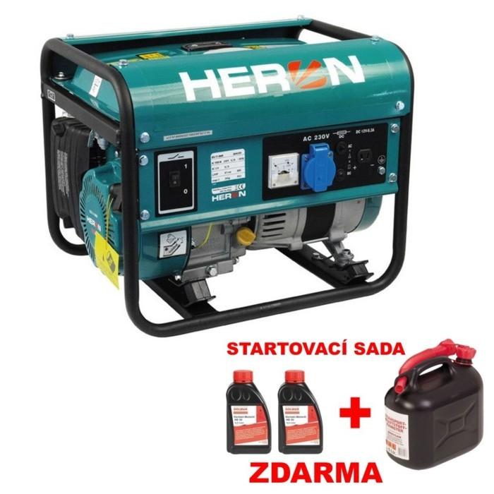 HERON EG 11 IMR elektrocentrála benzínová 8896109
