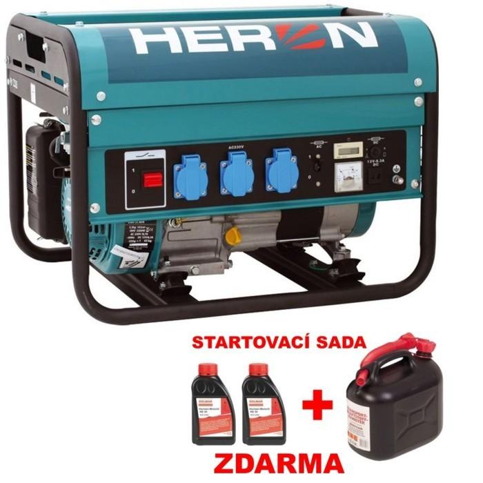 HERON EGM 25 AVR elektrocentrála benzínová 8896111