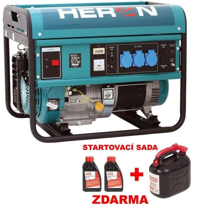 HERON EGM 55 AVR-1 benzínová elektrocentrála 8896113