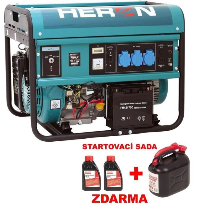 HERON EGM 55 AVR-1E benzínová elektrocentrála 8896115