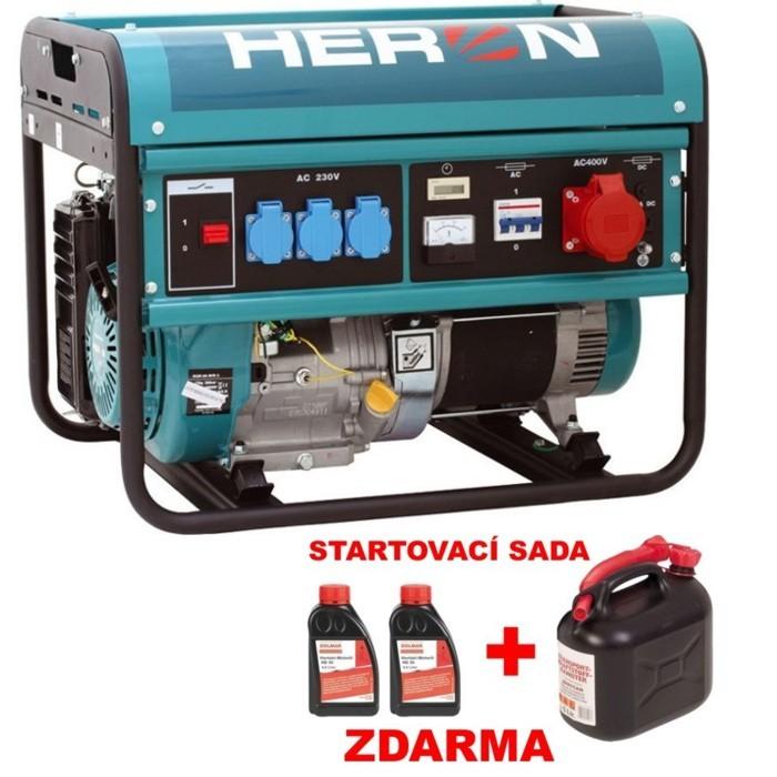 HERON EGM 60 AVR-3 elektrocentrála benzínová 8896112