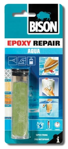 Bison Epoxy Repair Aqua 56ml blistr - Voděodolná dvousložková epoxidová plastelína