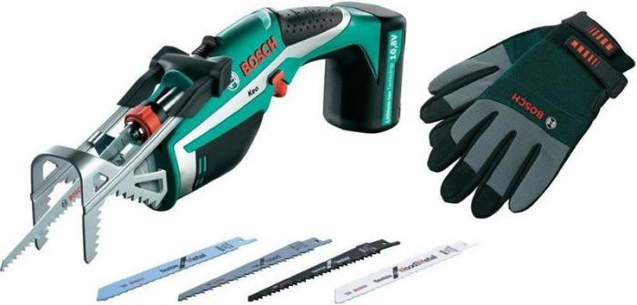 Bosch KEO 10,8 LI + rukavice XL 0600861906