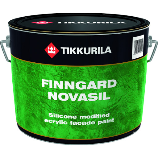 Tikkurila Finngard Novasil 0,9L LAP bílá akrylátová fasádní barva modifikovaná silikonem