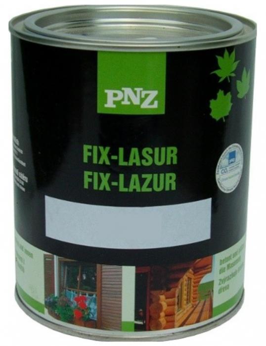 PNZ Fix-Lazur 0,75L nestékavá lazura pro venkovní i vnitřní použití zvýrazňující kresbu dřeva