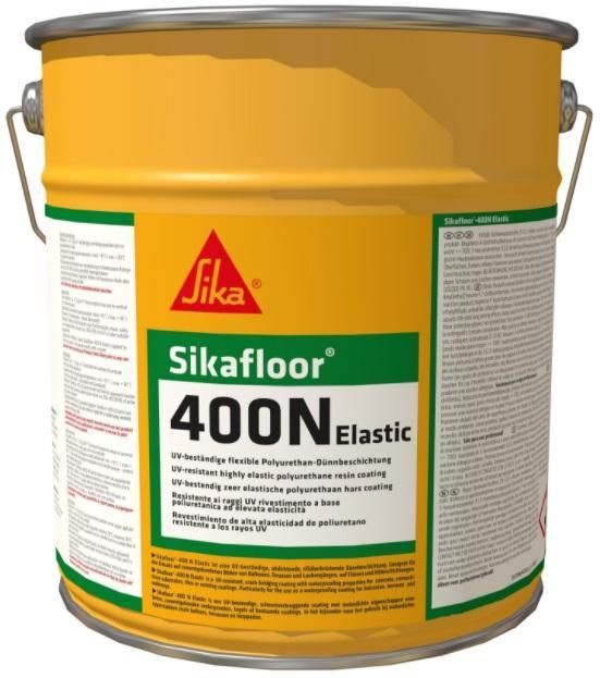 Sikafloor 400 N Elastic+ 6kg pružný vodotěsný nátěr na balkony terasy apod.pochozí