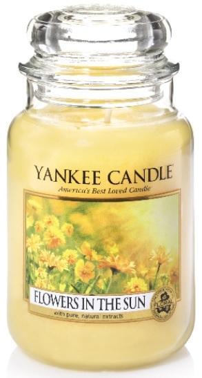 YANKEE CANDLE VONNÁ SVÍČKA FLOWERS IN THE SUN CLASSIC VELKÝ