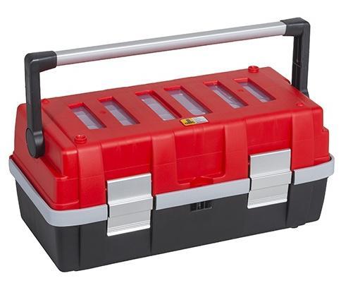 ALLIT Plastový kufr na nářadí v profi-kvalitě McPlus Alu 18 457010