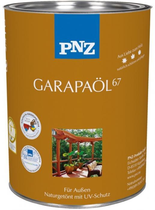 PNZ Olej Garapa (-GARAPA-ÖL67) 2,5L ochrana a ošetření exotických a ušlechtilých dřevin