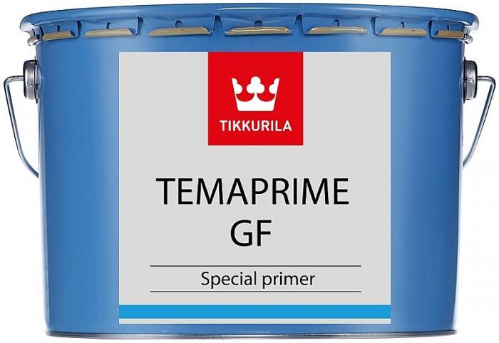 TIKKURILA Temaprime GF TVH bílá báze rychleschnoucí základní barva na ocel, zinek a hliník přetíratelný PU emaily