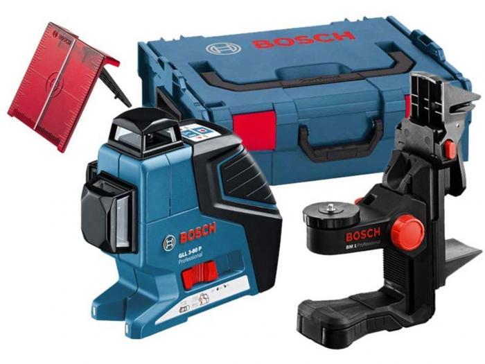 Bosch GLL 3-80 P + BM1 + L-Boxx 0601063309