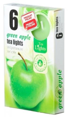 Z-Trade Čajové 6ks Green Apple vonné svíčky